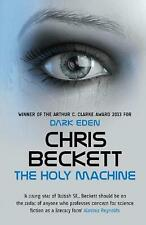 NEW The holy machine by Chris Beckett Paperback Book Free Shipping