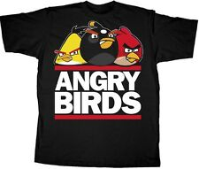Run Birds - Angry Birds  Adult T-shirt
