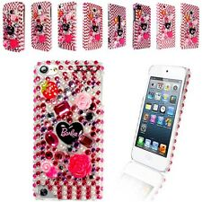 XMAS GIFT BARBIE DIAMOND FLOWER GEMSTONE CASE COVER FOR VARIOUS MOBILE PHONE