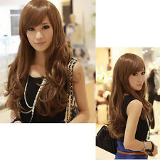 New Fashion Sexy Womens Girls Wigs Full Long Curly Wavy Cosplay Party Hair Wig