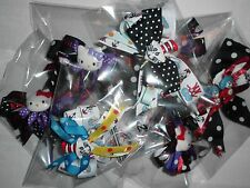 Girls Dr. Seuss and Hello Kitty Handmade Hair Barrettes, Assorted