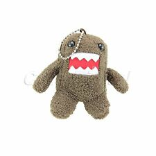Cute Domo Kun Plush Doll Toy Keychain Baby Kids Cell Phone Strap Christmas Gift