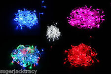 100/200/300 LED Fairy String Lights Christmas Wedding Tree Lighting Mood Light