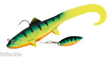 """FOX RAGE TWIST REPLICANT FISHING LURE WITH BLADE 7"""" 18cm CHOOSE COLOUR SINKING"""