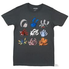 Naruto Shippuden Tailed Beasts Anime Licensed Adult Shirt S-XXL