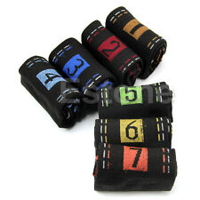 Candy Color 7 Pairs Included Mens Cotton Week Ankle Socks 7 Days Of The Week Hot