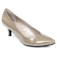 Me Too Women's Celine Cement Pearl Patent Leather Pump