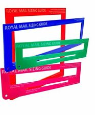 Royal Mail Postage / Postal Template Size PiP PPI Guide / Package Ruler