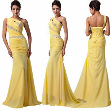 2014 Formal Evening Long Gown Party Prom Ball Bridesmaid Dresses Sequins Mermaid