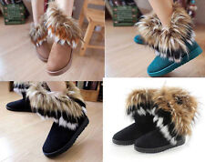 New lovely Women Lady Autumn Winter Fur Snow Boots Ankle Boots Freeshipping