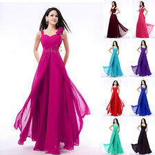Angel Women's Dresses Bridesmaid Evening Party Formal Prom Dress Gown In Stock