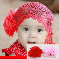 Toddlers Baby Girl Princess hat Crochet Hollow Party Dress Headband Headwear