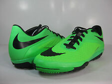 NIKE MENS HYPERVENOM PHELON TF Neo Lime/Black-Green-Silver -599846 303- TURF