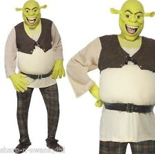 Mens Official Dreamworks Shrek Ogre Halloween Film Fancy Dress Costume Outfit