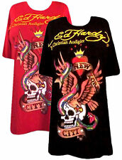 More Ed Hardy Red or Black New York Plus Size T-Shirts 2x 3x SALE!