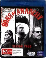 Sons Of Anarchy : Season 4 - Blu Ray Region B Brand New Free Shipping