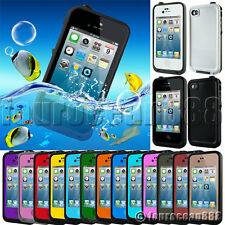 Waterproof Shockproof Dirt Snow Proof Protective Case Cover for iPhone 4 4S 4GS