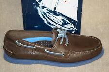 MENS SPERRY TOP-SIDER A/O BURNISHED BROWN BOAT SHOES (S1079)