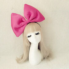 Oversized Super Giant Big Bow Hair Headband Party Photo Props, kiki cosplay