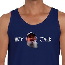 HEY JACK Duck Commander T-shirt Funny Uncle Si Adult American Apparel Tank