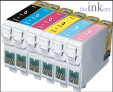 COMPATIBLE PRINTER INK CARTRIDGES REPLACE EPSON T0807 - Single inks and sets