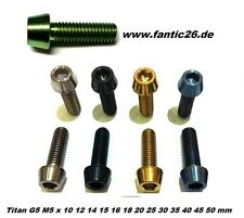 Titan m5 tornillo din912 bolt voladizo Steam freno de disco Avid SRAM disparador Tune