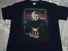 hellraiser pinhead t shirt movie horror gore cult classic clive barker the box
