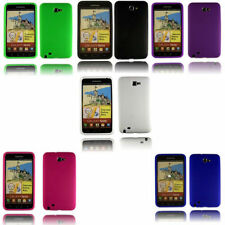 Silicone Gel Rubber Soft Back Case Cover Samsung Galaxy Note1 N7000 i9220