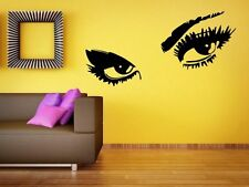 Sexy Eyes - Large Wall Decoration & Wall Sticker & Decal. Many colours. New!