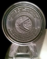 Apollo 15 Flown in Space Material Medallion (NASA Moon Flown)