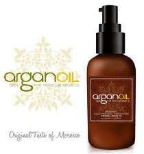 100% PURE COLD PRESSED OIL Organic Moroccan ARGAN OIL Skin Body Hair MASSAGE OIL