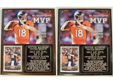 Peyton Manning #18 2013 NFL MVP Denver Broncos Photo Card Plaque 5-Time MVP