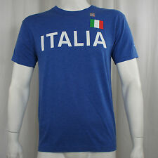 Authentic FIFA SOCCER World Cup Brasil 2014 Italy Across Logo T-shirt S-2XL NEW