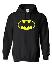 Batman Logo Pullover Hooded Sweatshirt (Sizes Youth S - Adult  5XL)