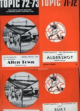 Newport County 1971/72 1972/73 HOME programmes choose from list FREE UK P&P