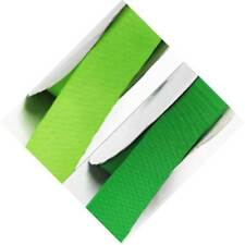 "Grosgrain Ribbon 9mm 3/8"" w. bu 5 meters All Lime s to Green s for cake decorate"