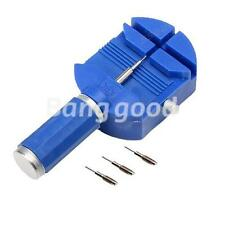 Watch Band Strap Adjuster Link Pins Remover Punch Repair Kit Watchmaker Tools