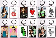 Danica Patrick Keychain - 6 Different Designs To Choose From