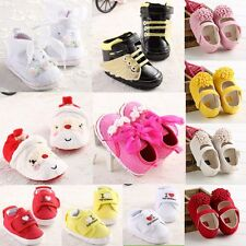 many colors baby shoes size 0-18 months fit girls toddlers so soft animal style