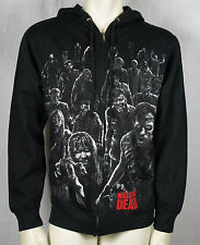 Authentic THE WALKING DEAD Walkers Attack Zipup Hoodie S M L XL XXL NEW