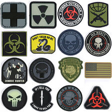 Rebel Tactical Velcro Military Morale Patch Various Models