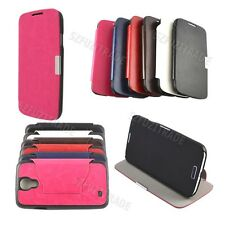 Multicolor Folio PU Leather Stand Cover Skin Pouch For Samsung Galaxy SIV i9500