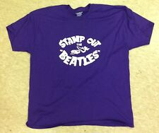 STAMP OUT THE BEATLES - T-SHIRT / MCCARTNEY LENNON HARRISON STARR