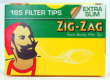 Zig Zag Filter Tips Extra Slim Pick Your Amount Cigarette Filters Roll Ups Cig