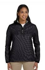 Ashworth Womens Water Resistant Houndstooth Half Zip Jacket Coat S-2XL- CLOSEOUT