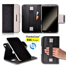 "Rotatory Cover Case for Samsung Galaxy Tab 3 7.0"" 8.0"" Smart Case Stand Cover"