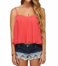 Roxy Juniors Want To Stay Tank top-Paradise Pink