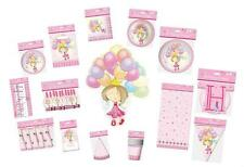 FAIRY PRINCESS GIRLS BIRTHDAY PARTY TABLEWARE 10 PACKS - ALL IN ONE LISTING
