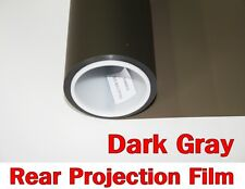 "Wide:60""/Dark Gray Rear Projection Film/Projector/Screen/Material/Window/Glass"