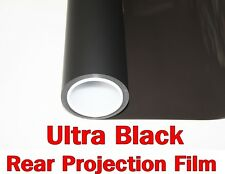 """Wide:60""""/Ultra Black Projection Film/Projector/Screen/Material/Window/Glass/Home"""